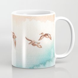 Blue-Winged Teals Coffee Mug