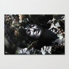 Wood Woman Canvas Print