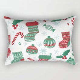 Christmas Pattern 05 Rectangular Pillow