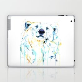 Polar Bear Unconditional Love Laptop & iPad Skin