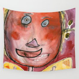I feel excited Wall Tapestry