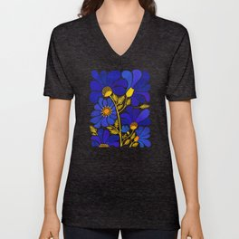 The Happiest Flowers Unisex V-Neck