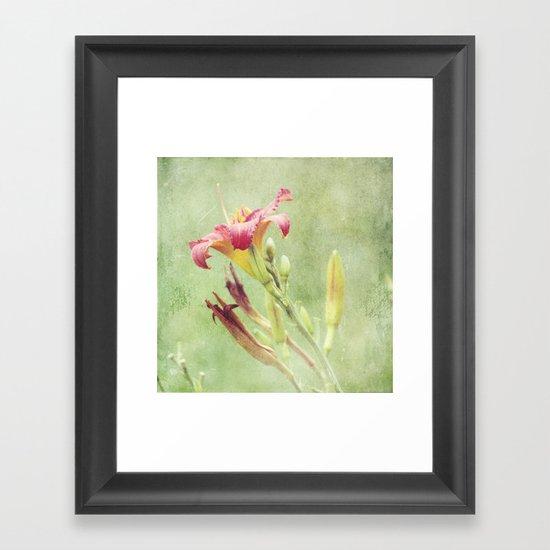 Garden Goddess Framed Art Print
