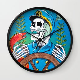 Down With the Ship Wall Clock