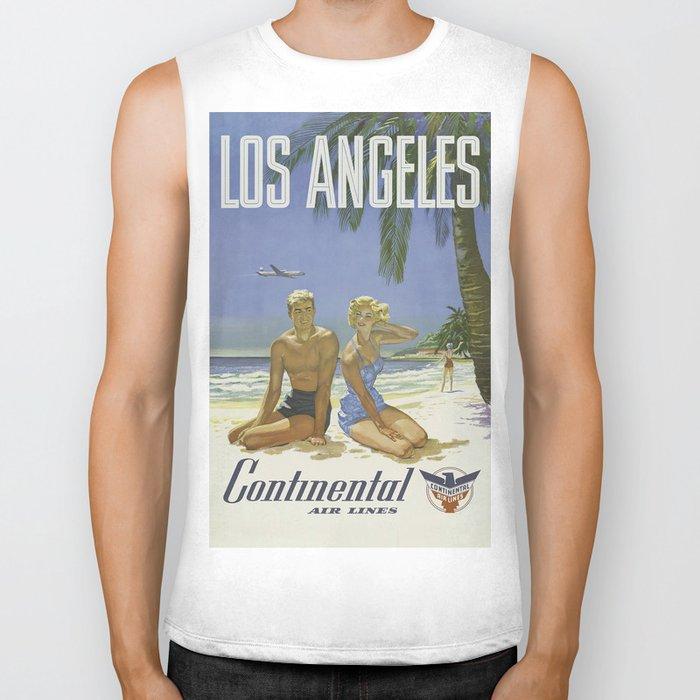 Vintage poster - Los Angeles Biker Tank