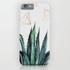 Agave Geometry #society6 #decor #buyart iPhone 6 Slim Case