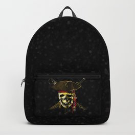 The Dark Eyes Of Pirates Backpack