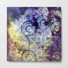 Space mandala 19 Metal Print