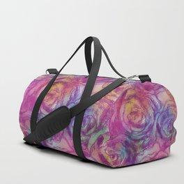 Abstract roses Duffle Bag