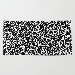 noisy pattern 14 Beach Towel