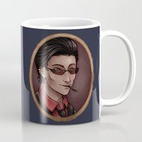 crowley Mugs featuring Crowley by Abbi Laura