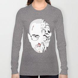 Breaking Bad: Walter White broken down Long Sleeve T-shirt