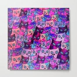 cats new color popularity-199 Metal Print
