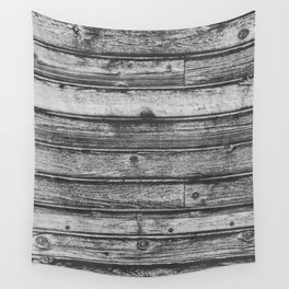 Weathered Wood Wall Wall Tapestry