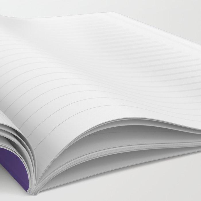 Ladylike Motherfucker (Ultra Violet) Notebook