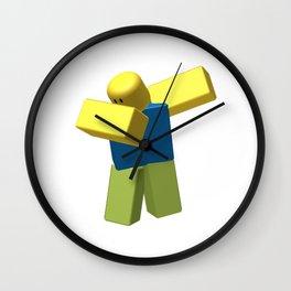 Roblox Dab Wall Clock