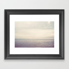my kind of landscape ... Framed Art Print