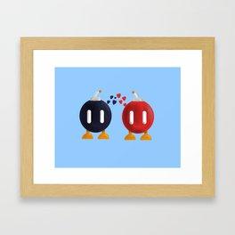 Bomb-Omb Love Framed Art Print