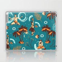 Hawaiian fire dancers Laptop & iPad Skin