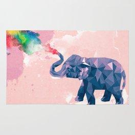Elephant chilling Rug