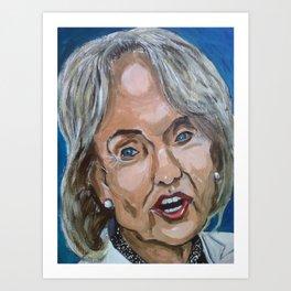 Taliban Republican: Jan Brewer Art Print
