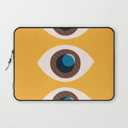 Watching You-Yellow Laptop Sleeve