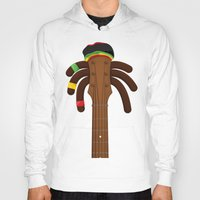 reggae Hoodies featuring Reggae by Emir Simsek