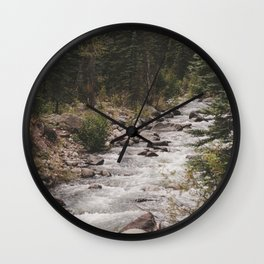 Stream of Consiousness Wall Clock