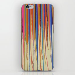 The Colourful Drip iPhone Skin