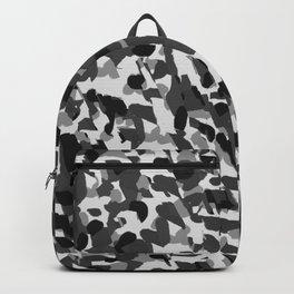 grey camo Backpack