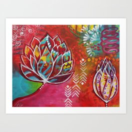 Blooming Beauty Art Print