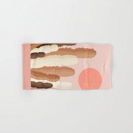 Abstraction_SUN_CACTUS_Minimalism_002 Hand & Bath Towel