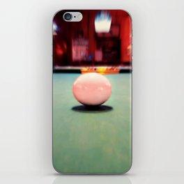 Cue Ball iPhone Skin