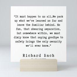 31  | Richard Bach Quotes | 190916 Mini Art Print