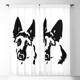 German Shepherd Dog Gifts Blackout Curtain