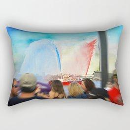 Fire Boat Rectangular Pillow