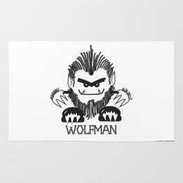 MONSTRZ - WOLFMAN Rug