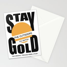 The Outsiders Stationery Cards
