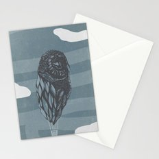 Hot Owl Balloon Stationery Cards