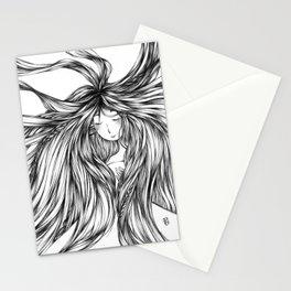 Love is in the Hair Stationery Cards
