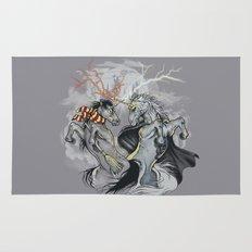 Retold with Unicorns II Rug