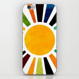 Sun Retro Art iPhone Skin