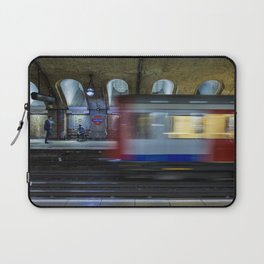 All Go At The London Underground Laptop Sleeve