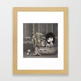 """""""Dirty"""" Framed Art Print"""