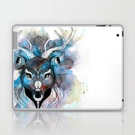 Deer- Blue Laptop & iPad Skin