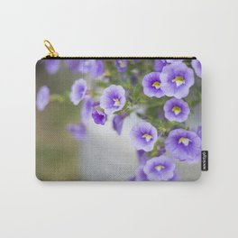Violets in a Milk Churn Carry-All Pouch