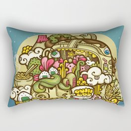 Midnignt Hunger Rectangular Pillow