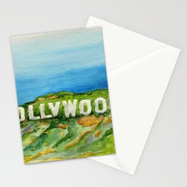 Hollywood Sign - An American Cultural Icon Stationery Cards
