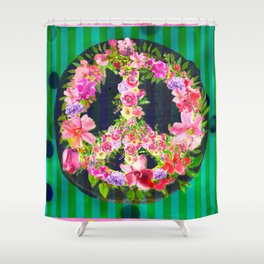 HumanKind Be Both Shower Curtain