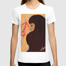 Sailor Mars: Fem T-shirt